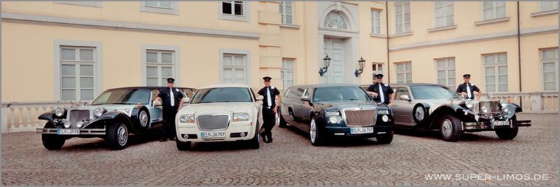 Limousinen Service Fahrer. Super Limos.